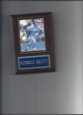 GEORGE BRETT PLAQUE BASEBALL KANSAS CITY ROYALS KC MLB