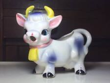 Vintage ceramic cow creamer made in Japan