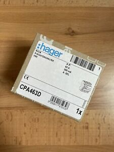 Hager FI-Schalter SEL 63A 300mA CPA463D NEU OVP FI-Schutzschalter Selektiv