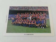 POSTAL FC BARCELONA TEAM 1993 1994 93-94 SEASON FOOTBALL POSTCARD CRUYFF