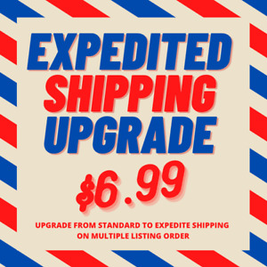 Upgrade Free Standard Shipping to EXPEDITED Shipping on Multiple Item Order