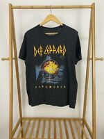 Def Leppard Pyromania Reprint Retro Short Sleeve T-Shirt Size L