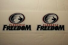 "(2) Florence Freedom (2.5"") Diy Stickers Decals Great for Yeti"