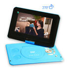 """Portable mobile DVD 13.9 """"small video game machine function HD player,BLUE"""