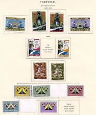 PORTUGAL SCOTT#671/74   HINGED  STAMPS