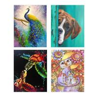 5D DIY Full Drill Diamond Painting Animal Cross Stitch Embroidery Kit Home Decor