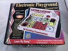 ELECTRONIC PLAYGROUND  50-EXCITING EXPERIMENTS / PROJECTS ELENCO