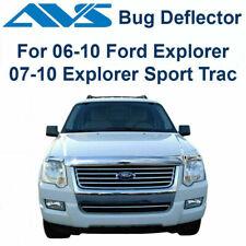 AVS Fits 2006-2010 Ford Explorer Bugflector Chrome Hood Protector Shield 680314