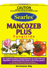 Searles MANCOZEB PLUS FUNGICIDE 200g Control of Fungal Diseases
