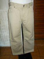 Pantalon homme coton beige JOOP! JEANS ROBBIE w34 42fr 19MA14
