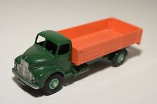 # DINKY TOYS 418 LEYLAND COMET HINGED TAILBOARD GREEN ORANGE EXCELLENT REPAINT