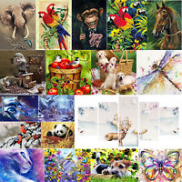5D DIY Animals Birds Full Drill Diamond Painting Cross Stitch Embroidery Kit