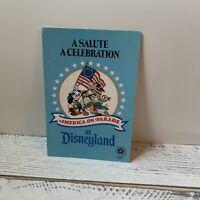 America On Parade: A Salute... A Celebration at Disneyland - Souvenir Brochure