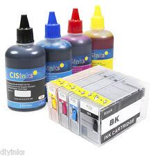 Refillable Ink Cartridge Kit for Canon PGI-1200 MAXIFY MB2020 MB2320