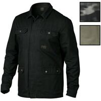 Oakley Men's The Dawn Shacket Button Front Shirt Jacket