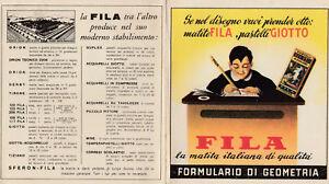vecchio formulario di geometria Fila piego pubblicitario colori 4 facciate