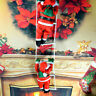 1PCS CLIMBING SANTA WITH ROPE LADDER OUTDOOR CHRISTMAS DECORATION
