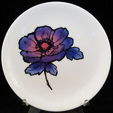 """BLUE ANEMONE Wedgwood Susie Cooper Bread & Butter 6.5"""" NEW NEVER USED England"""
