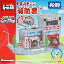Takara Tomy Tomica Plarail Thomas and friend town city - Fire Station w plakid