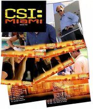 CSI Crime Scene Investigation Miami: Series 2 - 72 Card Basic/Base Set
