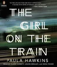 The Girl on the Train by Paula Hawkins (2015, CD, Unabridged)