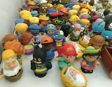 Little People Huge Lot Disney Princess Batman Nativity Safari Animals 130 Pieces