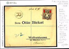 dbW18d~ 1904 ZANZIBAR Registered BC High Vals/GERMANY Munich