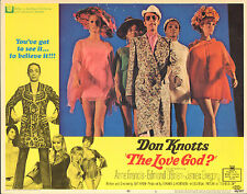 THE LOVE GOD original 1969 lobby card DON KNOTTS/SEXY BABES 11x14 movie poster