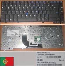 Qwerty Keyboard PO Portuguese HP COMPAQ NC6400 K060802F1 PK130060M00 Black /