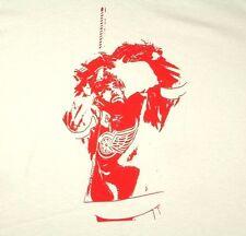 Detroit Red Wings Henrik Zetterberg White T Shirt NHL Sz XL Extra Large