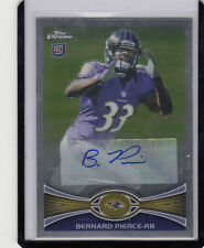 "2012 TOPPS CHROME BERNARD PIERCE #213 ""BALTIMORE RAVENS"" ROOKIE AUTO/AUTOGRAPH*"