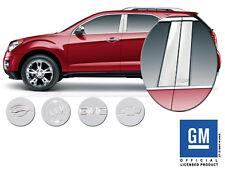 2009-2012 Chevrolet Traverse GM Officially Licensed Pillar Post Trim Chrome NEW