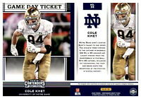2020 Panini Contenders Draft Picks Inserts GAME DAY TICKET  -  You Pick