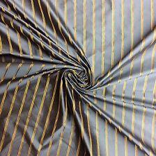 PI07 Pindler & Pindler Saumur Stripe Blue Drapery Home Decor 100% Silk Fabric