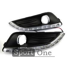 Car LED Daytime Running Light DRL Daylight Lamp White for Ford Fiesta 2013 HOT