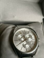 CALVIN KLEIN Exchange Chronograph Watch K2F27126 Swiss Made Movt 44mm