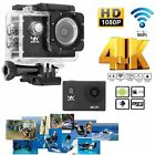 "HD 4K WIFI Sports Action 2.0"" Camera Waterproof DV Camcorder 16MP Cam Lot LN"
