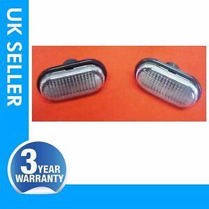 FOR RENAULT CLIO MEGANE LAGUNA MASTER side indicator repeater lens light CLEAR