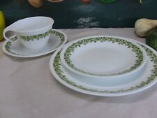 Corelle by Corning - Spring Blossom - Cup, Saucer, B&B and Luncheon Plate Set.