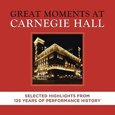 Great Moments At Carnegie Hall-Selected highligh 2 CD NUOVO