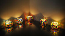 Wedding Party Romantic Glass Candle Holder Set Votive Tea Light  Mini Floor Lamp