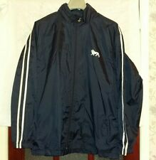 Lonsdale Blue White Zip Up Shower Proof Coat Jacket XL Great Condition