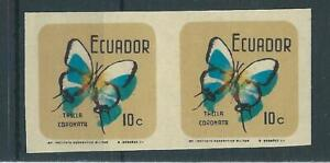 Ecuador,1969,Butterfly,imperf,shift colour,MNH