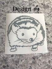 Tenrec Hedgehog, Two Designs! Yeti Cup Decal, Car Sticker M1004