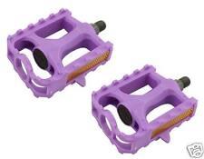 Bicycle Pedals MTB BMX Kid Bike 861 1/2 Purple Hi Impact Resin Body 202356