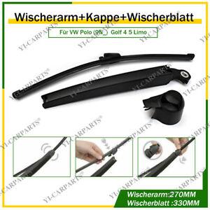 Für VW Golf V IV Plus Passat Heckscheibenwischer Wischerarm+Kappe+Wischerblatt