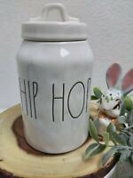 """Rae Dunn """"HIP HOP"""" Baby Small 2018 Easter Canister"""