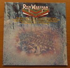 RICK WAKEMAN Journey To The Centre Of The Earth 1974 UK VINYL LP 1st PRESSING