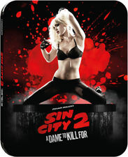 Sin City 2: A Dame To Kill For Limited Edition Steelbook Bluray UK Exclusive