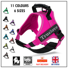 Genuine Truelove® Dog Strong Handle Harness Adjustable XS S M L XL XXL 11 Colour